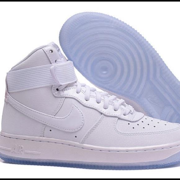 super popular b8c80 f1b36 Nike Air Force 1 HI PRM 654440-105 Sneakers Shoes